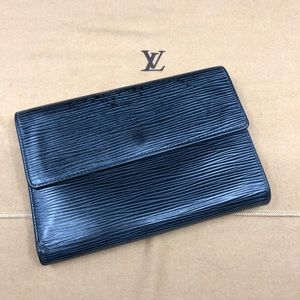 LV274 Epi Leather etui papiers Trifold Wallet